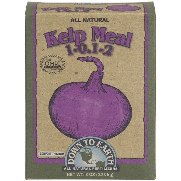 Down To Earth Kelp Meal, 1/2 Pound