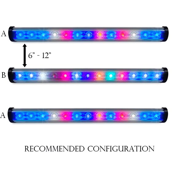 Kind LED Flower Micro Bar Light, 4 Foot - LED Grow Light - Rogue Hydro - 4