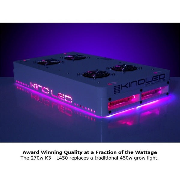 KIND LED K3 Series L450 LED Grow Light - LED Grow Light - Rogue Hydro - 8