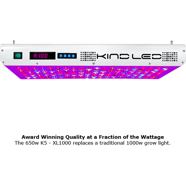 KIND LED K5 Series XL1000 - LED Grow Light - Rogue Hydro - 4
