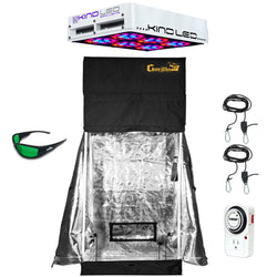 Gorilla Grow Tent/KIND LED Starter Grow Kit - LED Grow Tent Kit - Rogue Hydro - 1