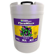 General Hydroponics Flora Series Hardwater 3 Pack, 15 Gallons