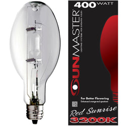 Sunmaster Red Sunrise Metal Halide Lamp, 400w - Metal Halide Bulb - Rogue Hydro - 1