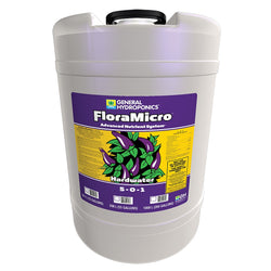 General Hydroponics FloraMicro Hardwater, 15 Gallons