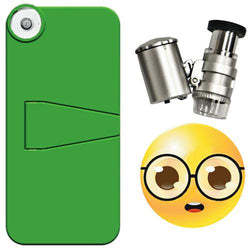 Grow1 iPhone 5 Case + LED Binocular Microscope 60x (Special Edition) - Microscope - Rogue Hydro - 1