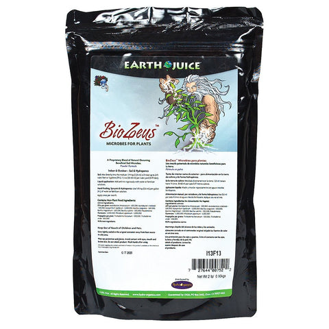 Earth Juice BioZeus, 2 Pounds - Mycorrhizae - Rogue Hydro