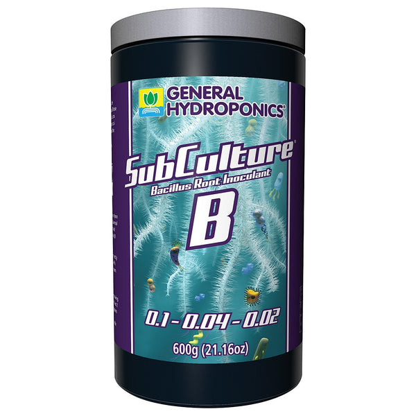 General Hydroponics SubCulture B, 600 Grams