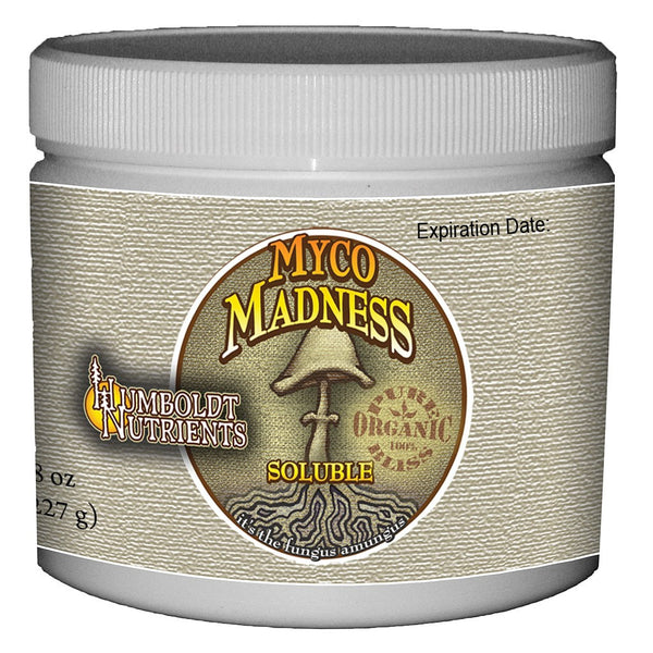 Humboldt Nutrients Myco Madness, 8 Ounces - Mycorrhizae - Rogue Hydro