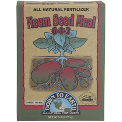 Down To Earth Neem Seed Meal, 5 Pounds