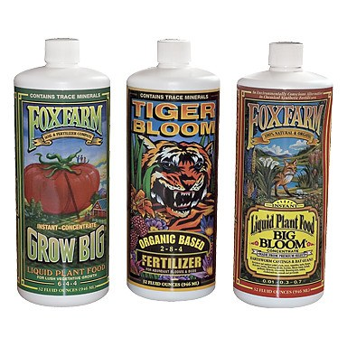 FoxFarm Nutrient Soil Trio, Quarts