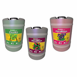 General Hydroponics Flora Series 3 Pack, 15 Gallons