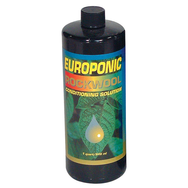 Europonic Rockwool Conditioner, 1 Quart - Nutrients - Rogue Hydro
