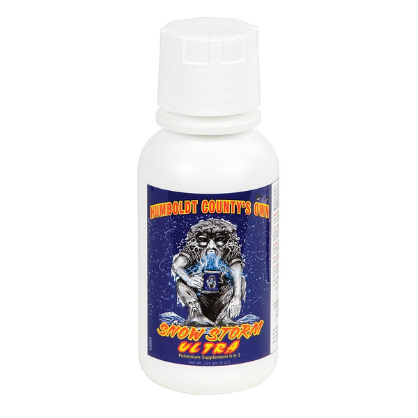 Humboldt County's Own Snow Storm Ultra, 8 Ounces - Oil/Resin Booster - Rogue Hydro