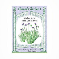 "Renee's Garden Chives, ""Fine Leaf"" - Onions - Rogue Hydro - 1"