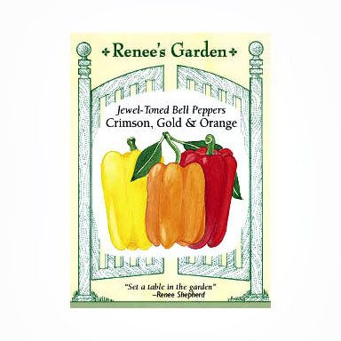 Renee's Garden Peppers - Jewel Sweet Bells - Peppers - Rogue Hydro - 1