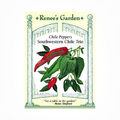 Renee's Garden Peppers - Southwestern Chile Trio - Peppers - Rogue Hydro - 1