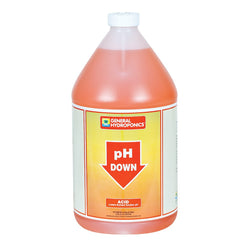 General Hydroponics pH Down, 1 Gallon