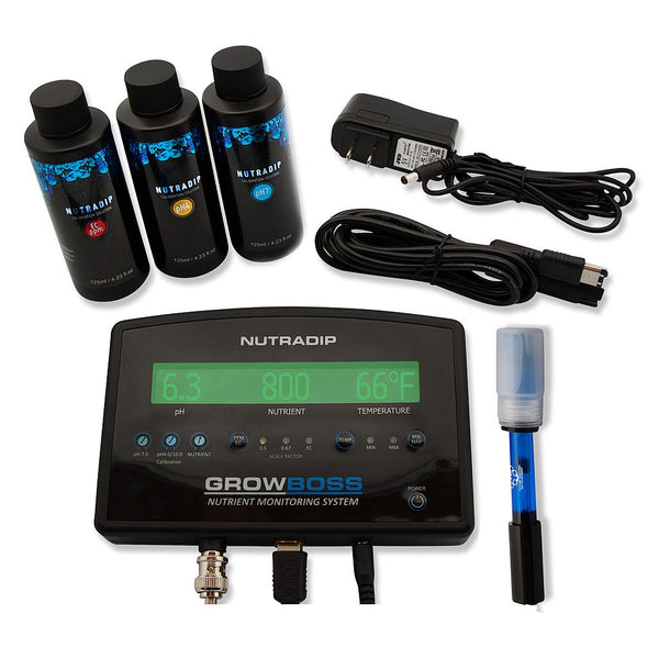 Future Harvest Nutradip GROWBOSS Nutrient Monitoring System - pH-EC-TDS - Rogue Hydro - 2