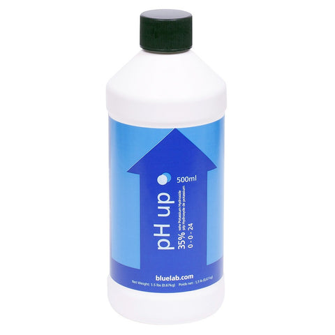 Bluelab pH Up Solution, 500 mL - pH Up - Rogue Hydro