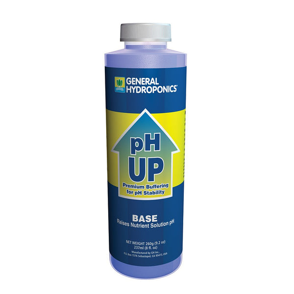 General Hydroponics pH Up, 8 Ounces - pH Up - Rogue Hydro