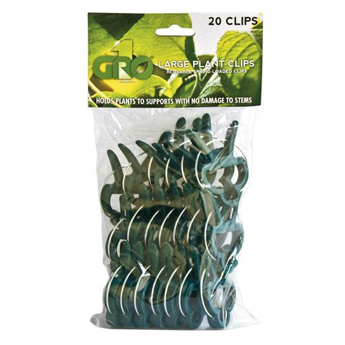 Grow1 Large Plant Clips - 20 pack