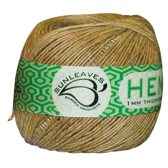 Sunleaves Hemp Twine 1 mm 301' - Plant Support - Rogue Hydro