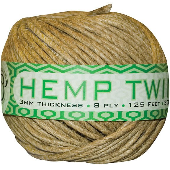 Sunleaves Hemp Twine 3 mm 125' - Plant Support - Rogue Hydro