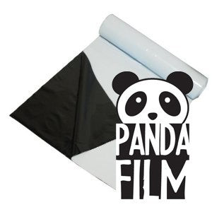 Panda Black and While Poly Film 10' x 50' 5.5 Mil