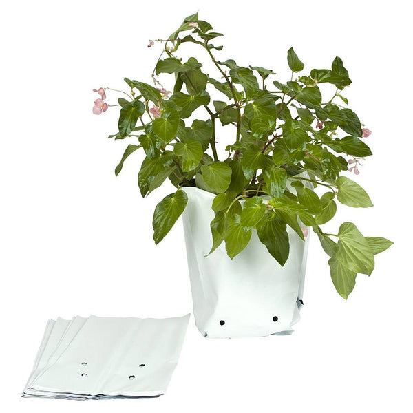 Sunleaves Grow Bags, 7 Gallon, 100 Pack - Poly Grow Bags - Rogue Hydro
