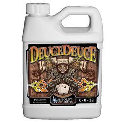 Humboldt Nutrients DeuceDeuce, 1 Quart - Potassium Supplement - Rogue Hydro