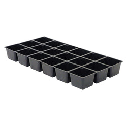 Sunleaves Break-a-Part Standard Flat Insert, 18 Site Square - Propagation Tray Insert - Rogue Hydro