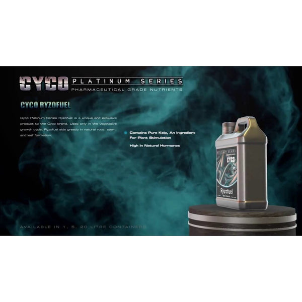 Cyco Ryzofuel, 1 Liter - Rooting Supplement - Rogue Hydro - 3