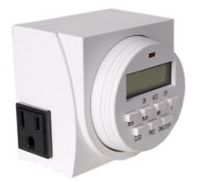 Blueprint Controllers Dual Outlet Digital Timer 120V, BDT-2