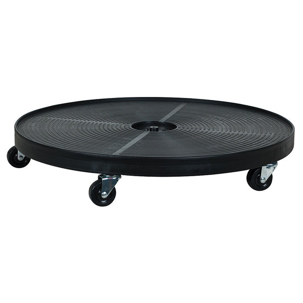 "Plant Saucer Dolly Black, 24"" Round - Saucer Dollyers - Rogue Hydro"
