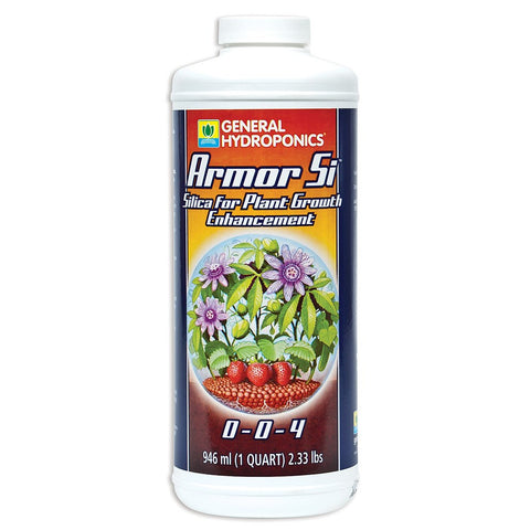 General Hydroponics Armor Si Silica, 1 Quart - Silica Supplements - Rogue Hydro