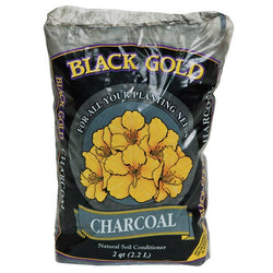 Black Gold Charcoal, 2 Quarts - Soil Amendment - Rogue Hydro