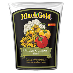 Black Gold Garden Compost, 1 cubic foot - Soil Amendment - Rogue Hydro