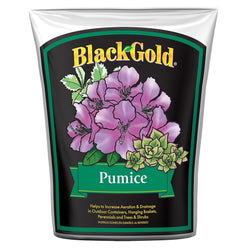 Black Gold Pumice, 4 quarts - Soil Amendment - Rogue Hydro