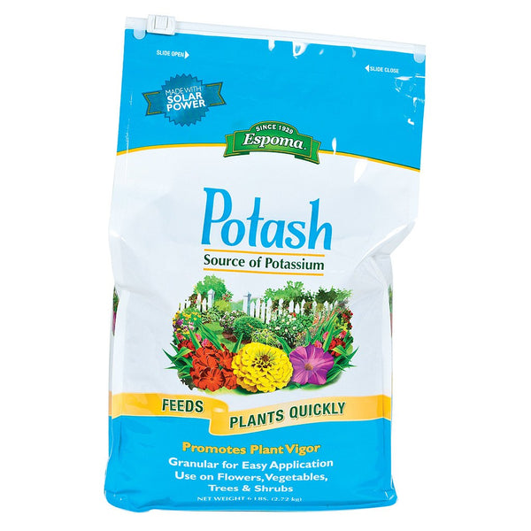 Espoma Potash, 6 Pounds - Soil Amendment - Rogue Hydro