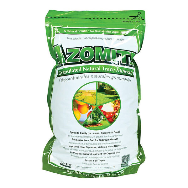 Granular Azomite, 10 Pounds - Soil Amendment - Rogue Hydro