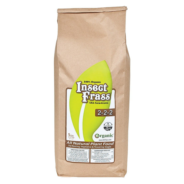 Insect Frass, 5 Pounds - Soil Amendment - Rogue Hydro