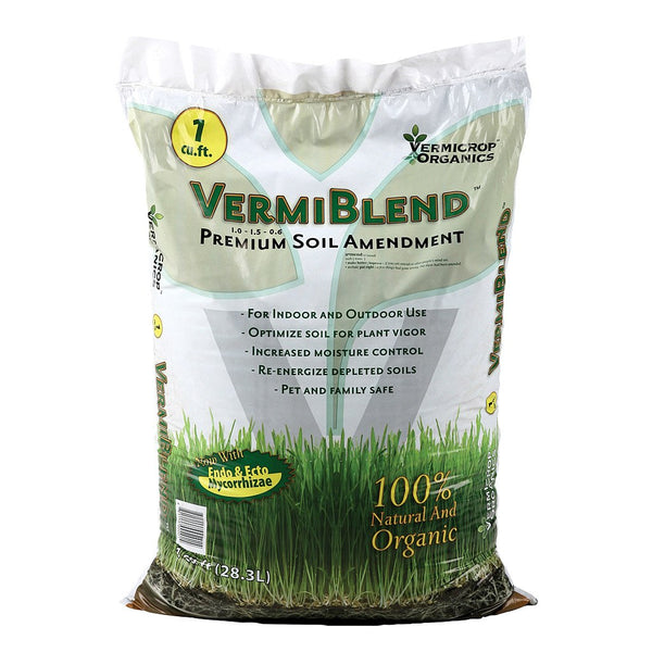 Vermicrop Organics VermiBlend Soil Amendment, 1 cu ft - Soil Amendment - Rogue Hydro