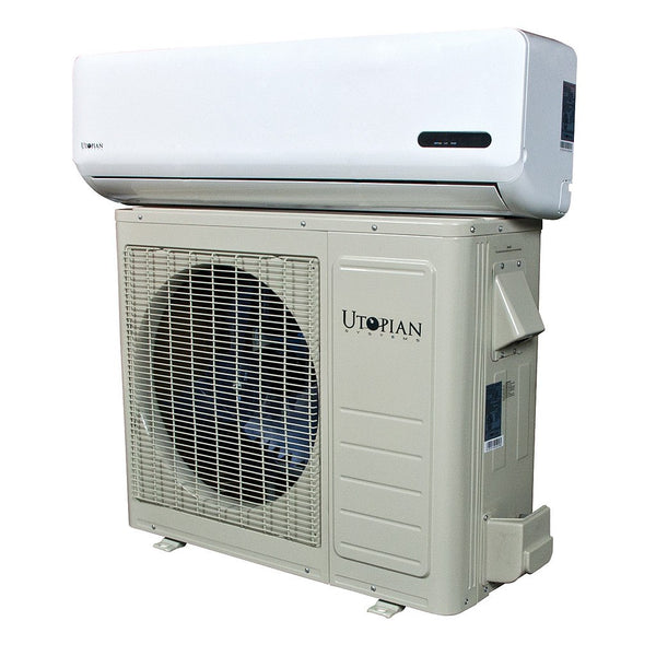 Utopian Systems Split A/C 21,000 BTU - Split/Ductless Air Conditioner - Rogue Hydro - 1