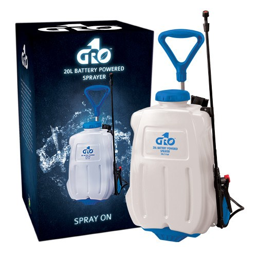 Grow1 5 Gallon/20 Liter Battery Powered Sprayer