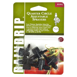 Raindrip Adjustable Quarter Circle Rotary Sprinklers 5 Pack - Sprayers - Rogue Hydro