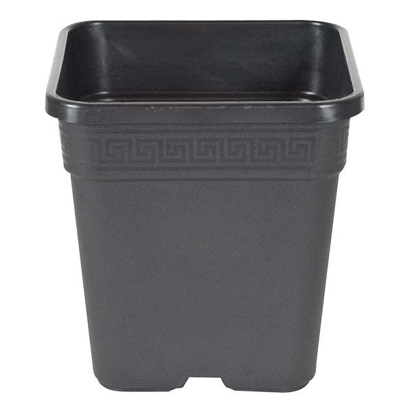 "Square Pot Black, 9"" - Square Pot - Rogue Hydro"