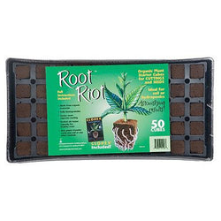 Root Riot Tray w/ 50 Root Riot Cubes - Starter Plugs - Rogue Hydro