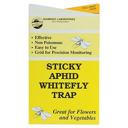 Seabright Labs Sticky Aphid/Whitefly Traps, 5 Pack - Sticky Trap - Rogue Hydro