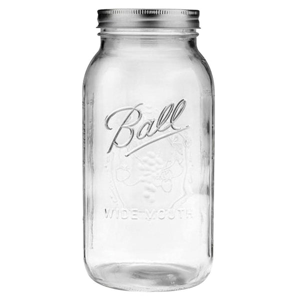 Ball Wide Mouth Jar, 1/2 Gallon 6 Pack - Storage - Rogue Hydro