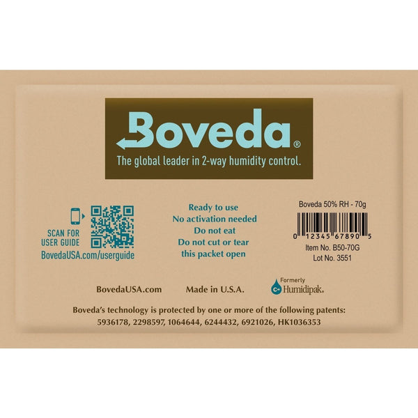 Boveda 67 Gram 62% Humidity Control Packet
